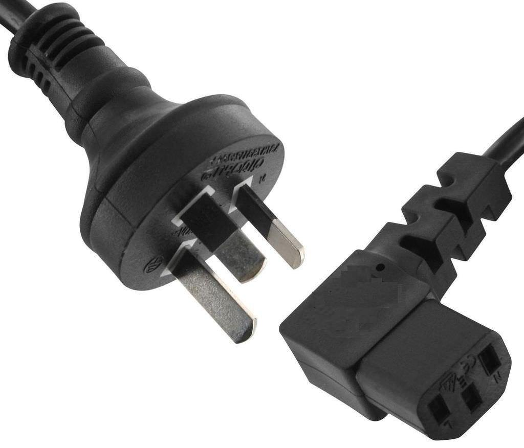 1.5m Right Angle Power Cord