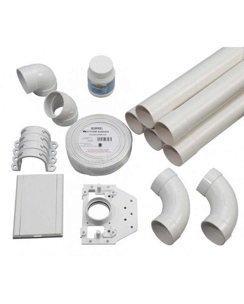 Installation Kit for 80 M² home | 1-inlet