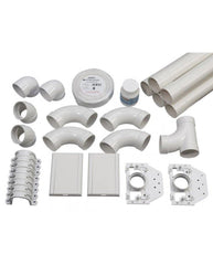 Bagless EVS2606B Complete Kit for 150 M² home | 2-inlet