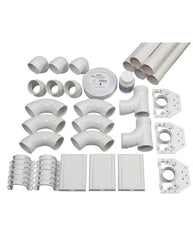 Deluxe DL1500B Complete Kit for 225 M² home | 3-inlet