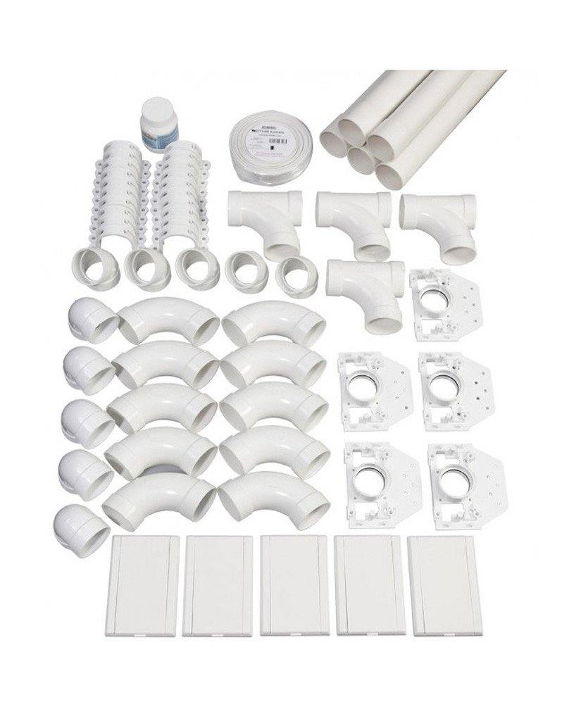 Heavy Duty Hurricane Complete Kit for 375 M² home | 5-inlet
