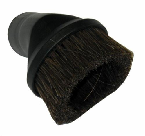 Round Dusting Brush - Horsehair