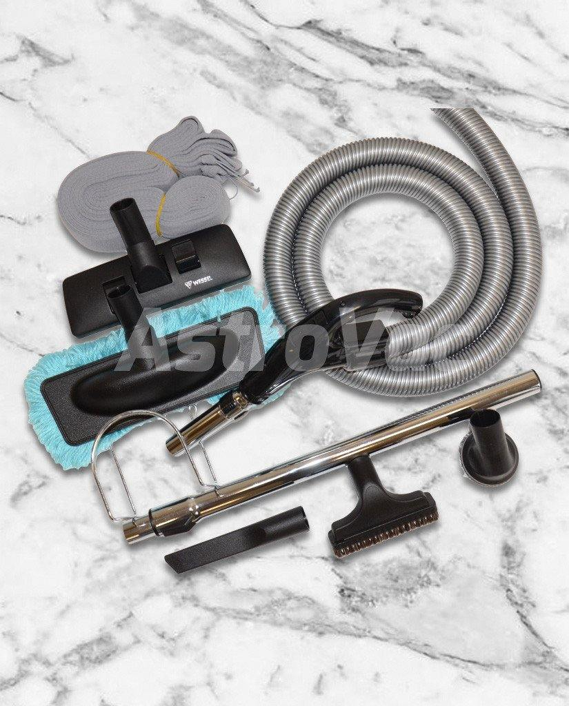 Switch Hose Kit with Mop Tool and Hose Cover - 9M - AstroVac Ducted Vacuum Warehouse
