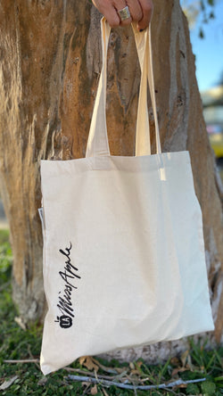 Lamissapple Cotton Tote bag 100% organic