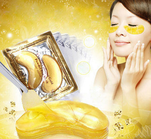 Gold Crystal™ Collagen Eye Mask (10 Sets)