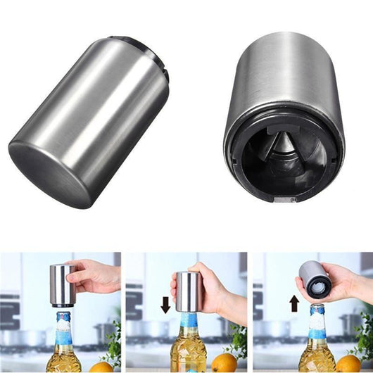 Extra Amazing Stainless Steel Bottle Opener at 50% OFF (Add-on Item: Can not be ordered alone)