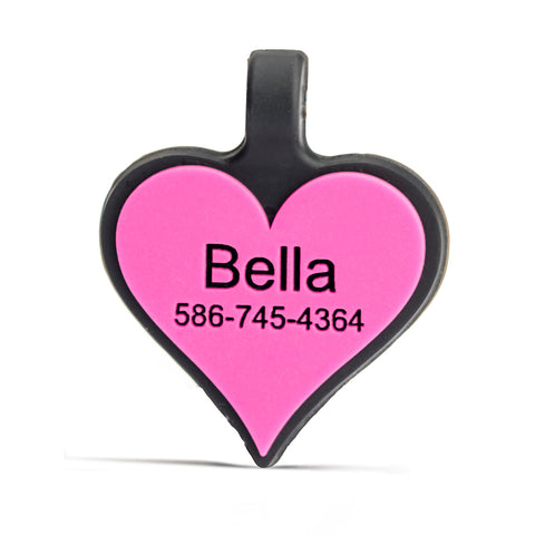 SiliDog Heart Tags