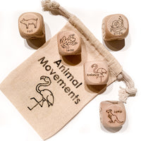 Animal Movement Dice