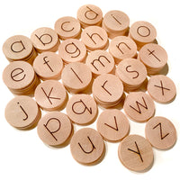 Lowercase Alphabet Discs