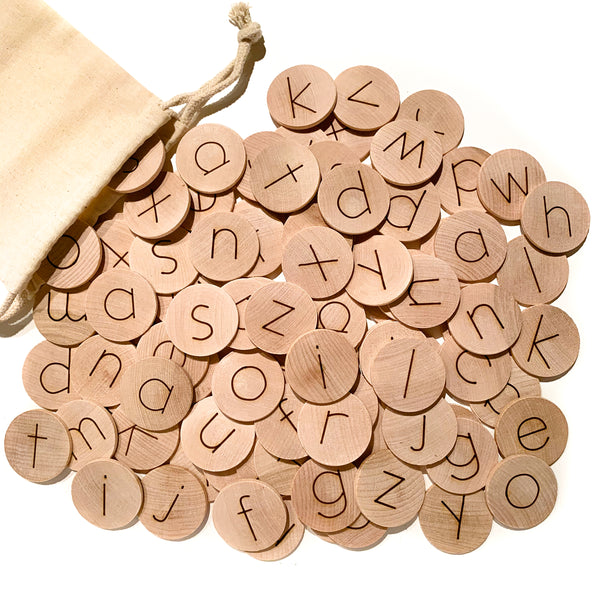 Alphabet Discs (Set of 100)