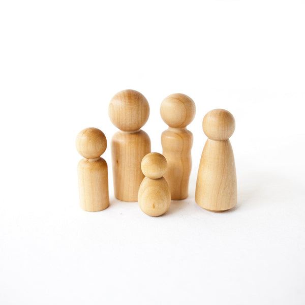 Peg Doll Family