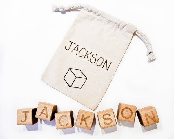 Personalized Baby Block Set
