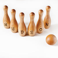 Personalized Bowling Set