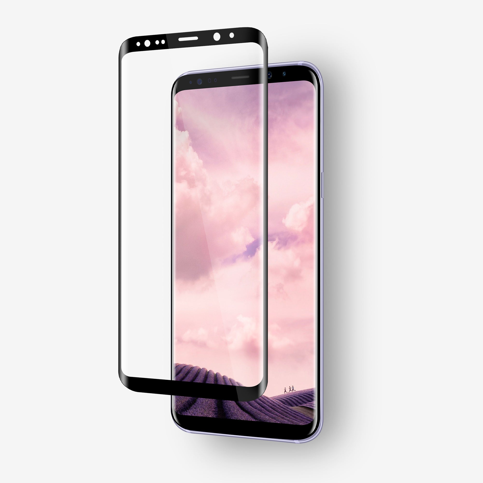 NanoArmour Screen Protector For Galaxy S8 Plus