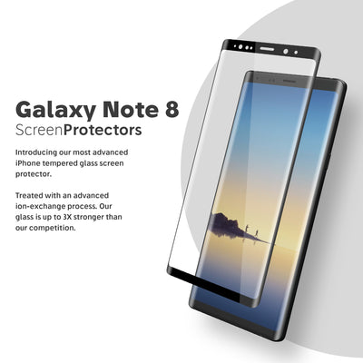 NanoArmour Best Samsung Galaxy Note 8 Screen Protector