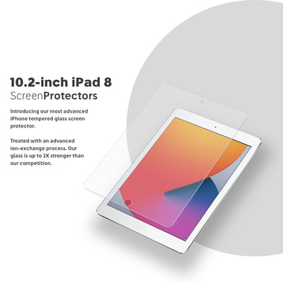 NanoArmour 10.2-inch iPad 8 Anti-Blue light Screen Protector (2020)