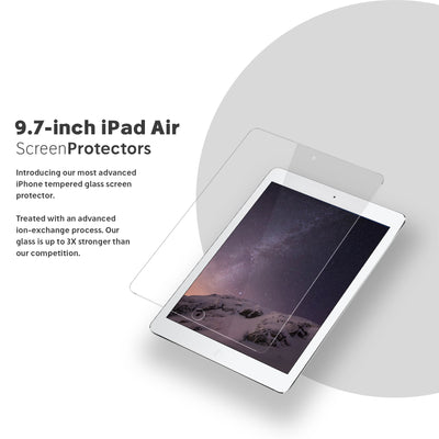 NanoArmour 9.7-inch iPad air 2 / 1 Screen Protector
