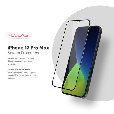 NanoArmour Anti-Microbial iPhone 12 Pro Max Screen Protector