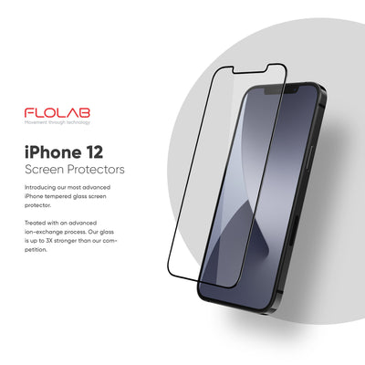 NanoArmour Anti-Microbial Best Screen Protector iPhone 12