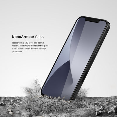 NanoArmour Anti-Microbial Best iPhone 12 screen protector(5.4) ***Pre-Order Ships OCT 3rd***