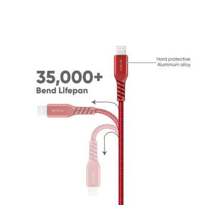 Alumiflo Type C to Lightning Cable