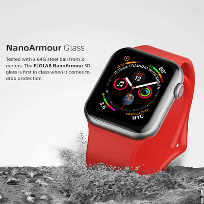 NanoArmour Apple Watch Screen Protector Series 5