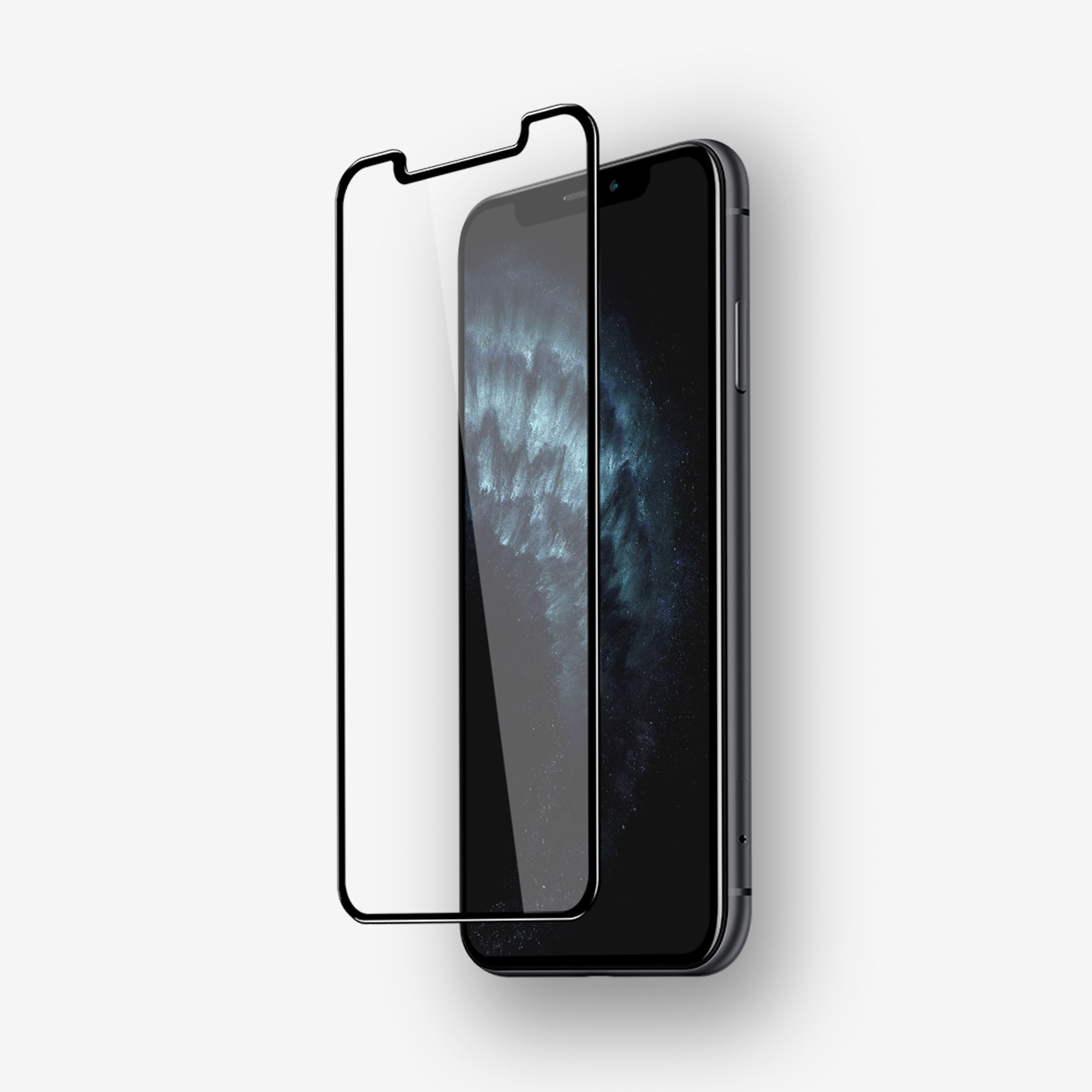 NanoArmour 3D Screen Protector for iPhone 11 Case Friendly