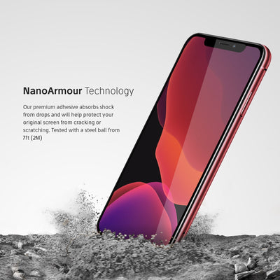 NanoArmour iPhone 11 Anti-Glare Screen Protector