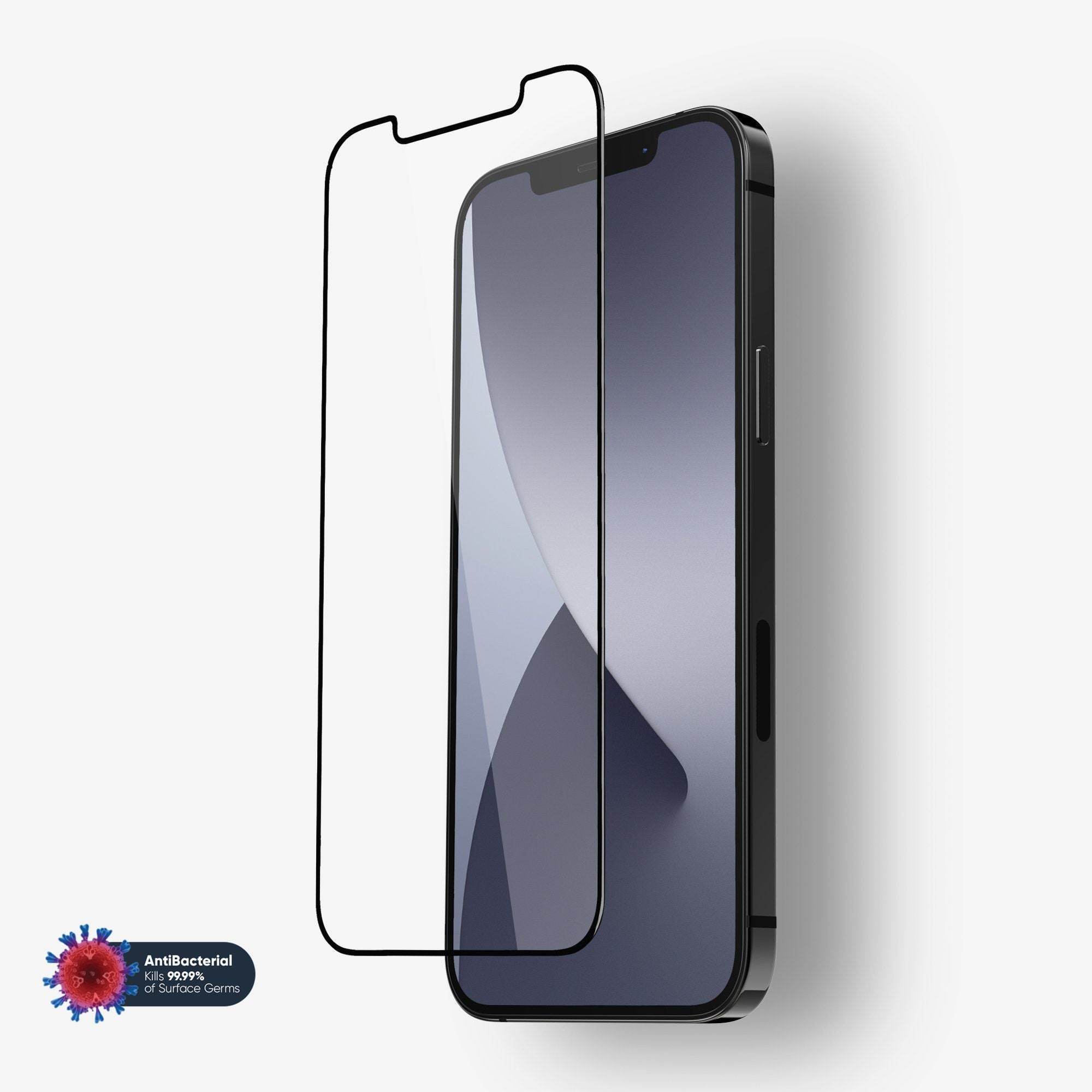 NanoArmour Anti-Microbial Best Screen Protector iPhone 12 Pro Max