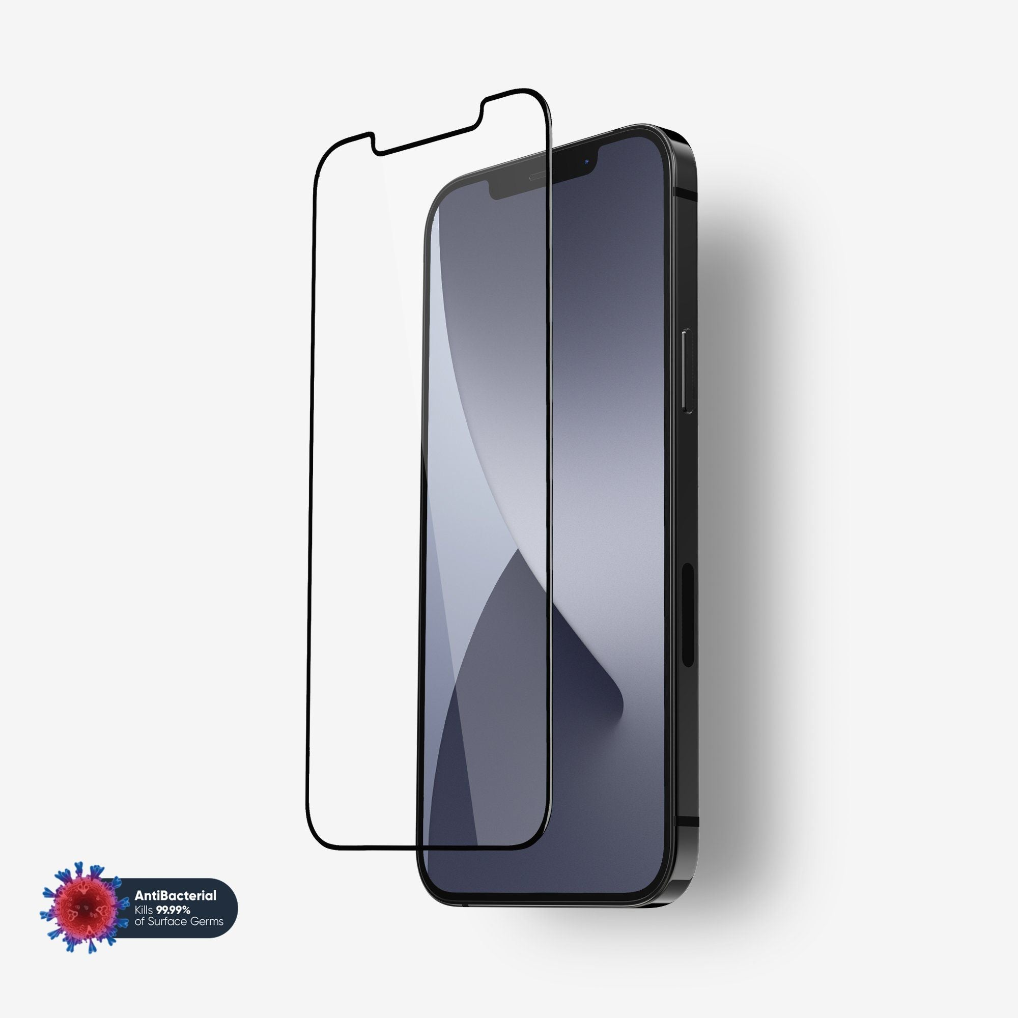 NanoArmour Anti-Microbial Screen Protector iPhone 12 Pro