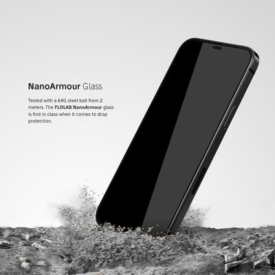 NanoArmour iPhone 12 Pro Full Cover Privacy Screen Protector