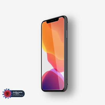 NanoArmour Anti-Microbial iPhone X Screen Protector XS