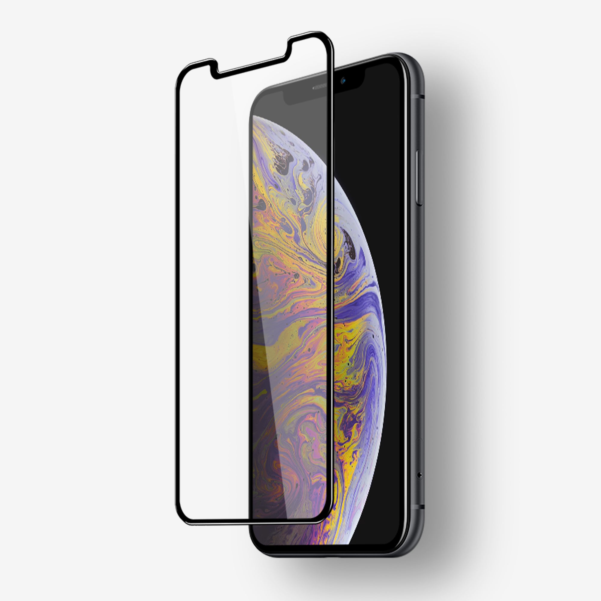 NanoArmour iPhone XS Max Tempered Glass Screen Protectors