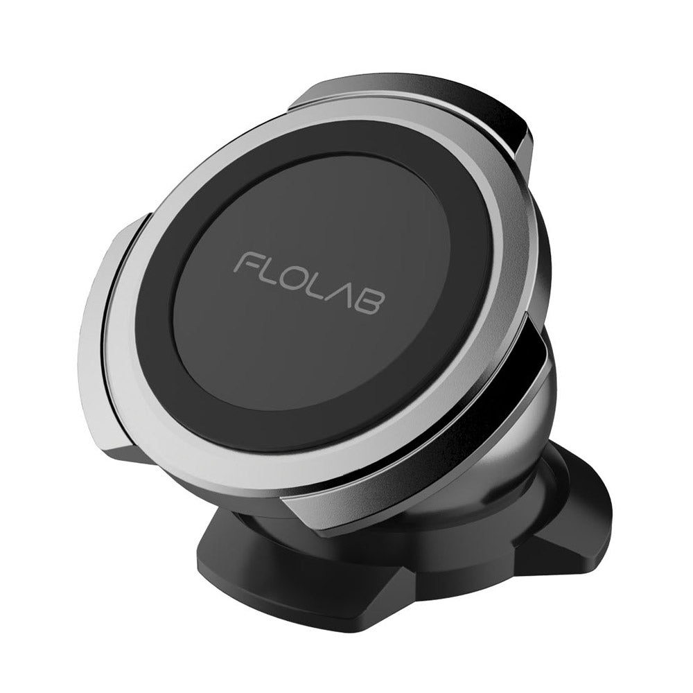 FLOLAB Chrome Gunmetal Magnetic Car Mount