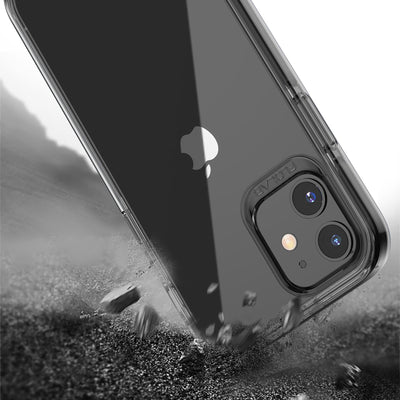 Black Clear iPhone 12 mini Cases TAFFYCA Series *Ships November 1st-5th*