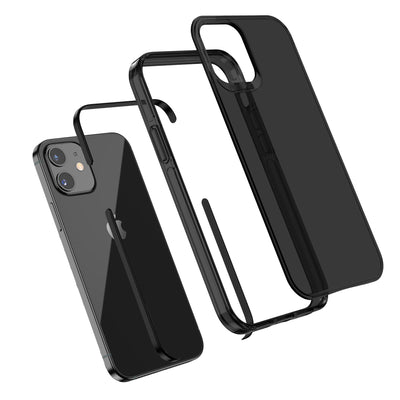 All Black Everything iPhone 12 mini Phone Case TAFFYCA Series