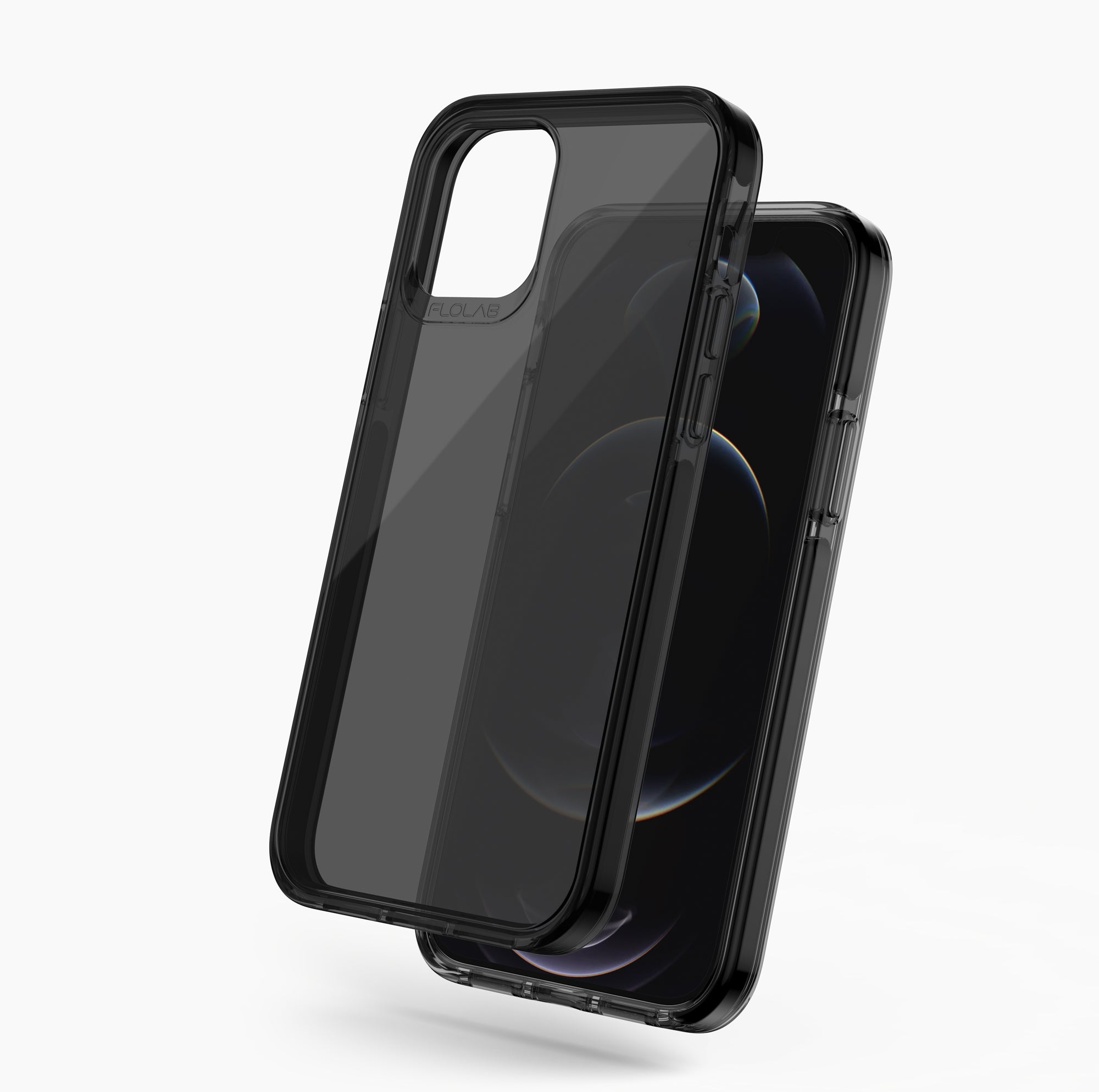 All Black Everything iPhone 12 Pro Max Phone Case TAFFYCA Series