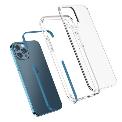 Pacific Blue TAFFYCA best iPhone 12 Pro Max Case