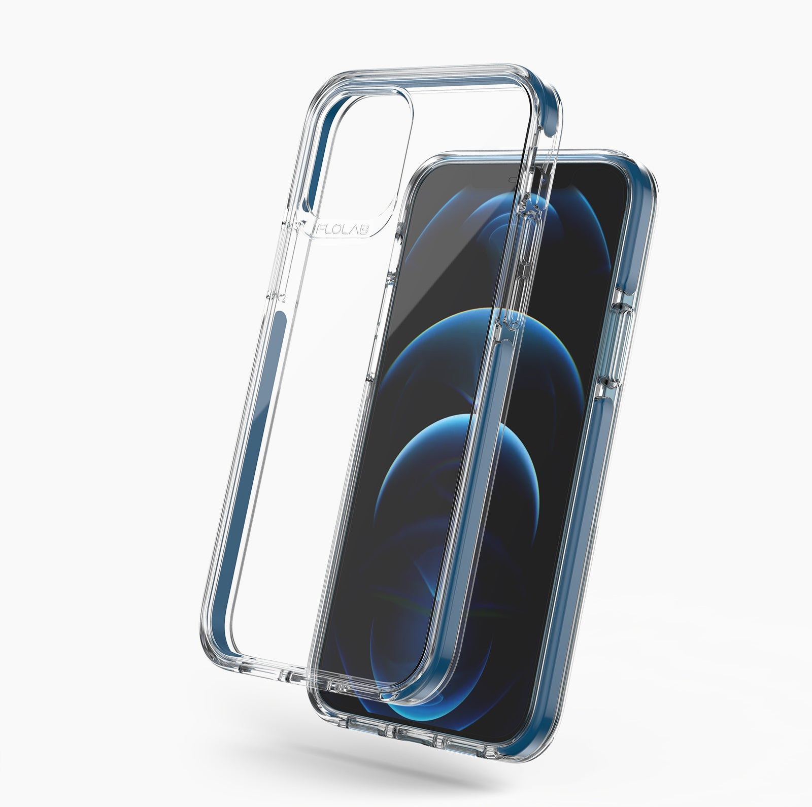 Pacific Blue TAFFYCA best iPhone 12 Pro Case