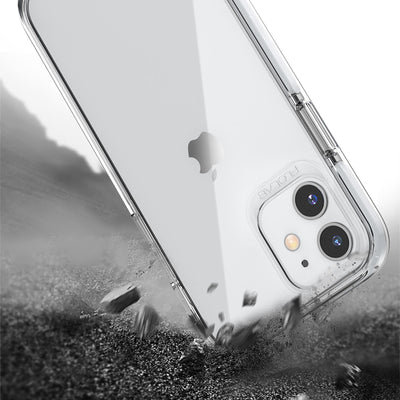 White iPhone 12 Pro Max Cases TAFFYCA Series