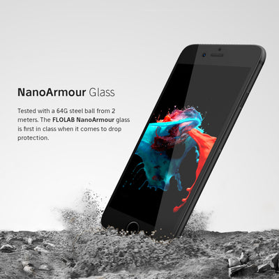 NanoArmour iPhone 8 / 7 Tempered Glass Screen Protector