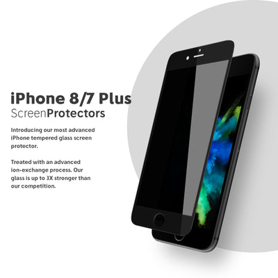 NanoArmour iPhone 8 / 7 Plus Privacy Screen Protector