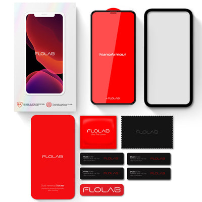 FLOLAB Tempered glass screen protector accessories
