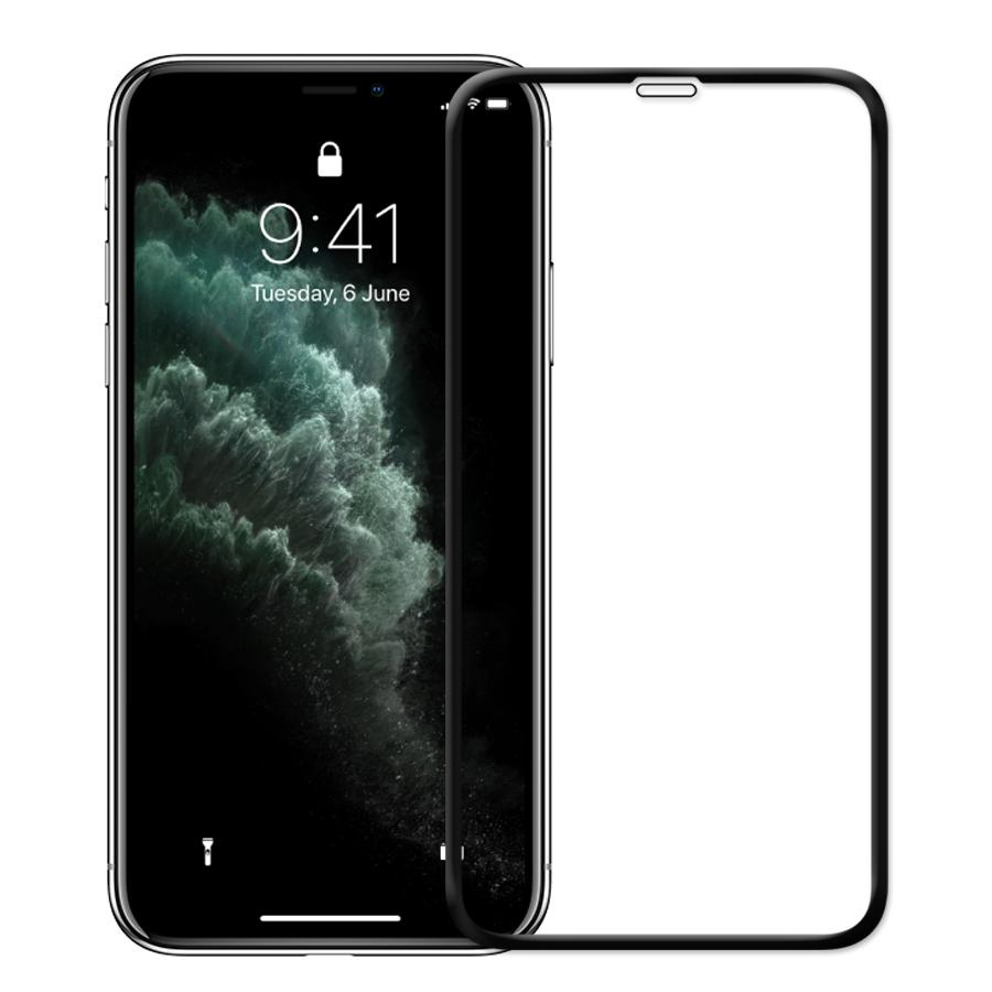 FLOLAB NanoArmour iPhone 11 Pro Max 3D Full Coverage Tempered Glass Screen Protector