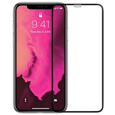 FLOLAB NanoArmour iPhone Xs Max 3D Full Cover Tempered Glass Screen Protector