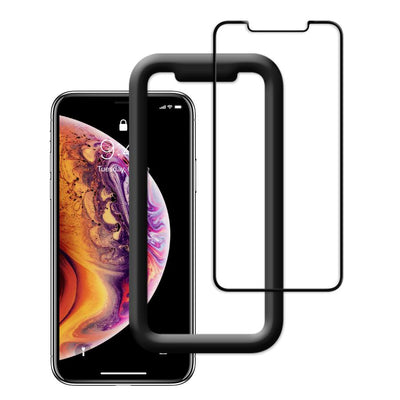 FLOLAB NanoArmour iPhone Xs Max Tempered Glass Screen Protectors
