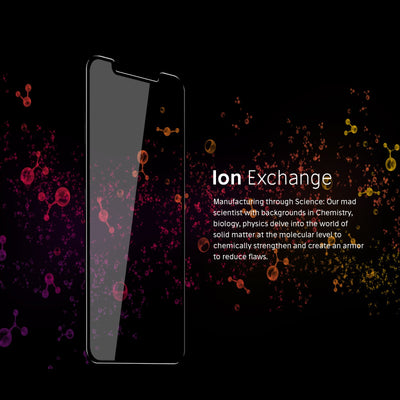 iPhone Xs Max Screen Protector ion exchange