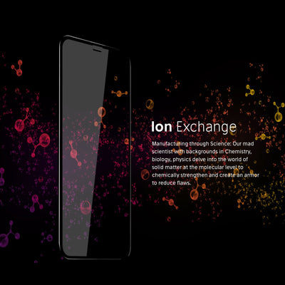 iPhone Xs Max Ion Exchange Process