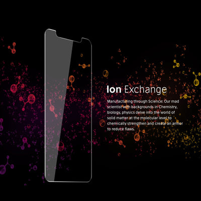 FLOLAB iPhone XS Tempered glass screen protector ion exhange