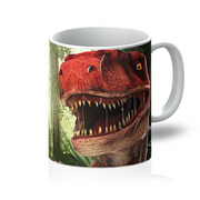 Velociraptor Red Mug - Immersive Play